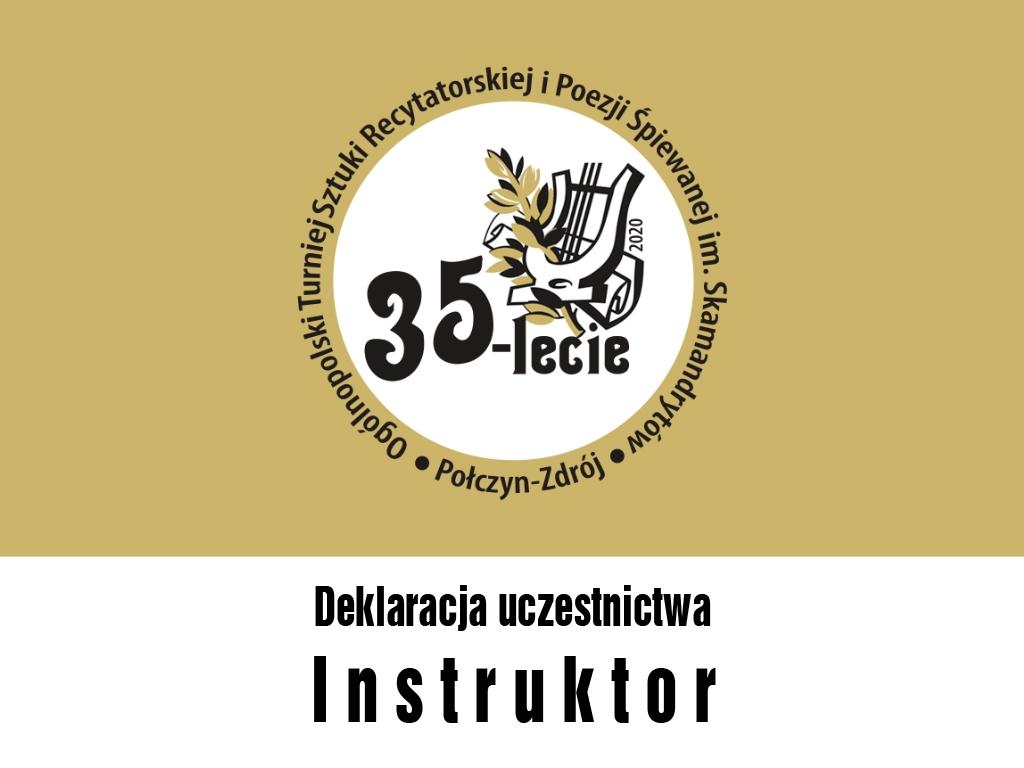 Deklaracja instruktor